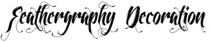 download fonts Feathergraphy Decoration