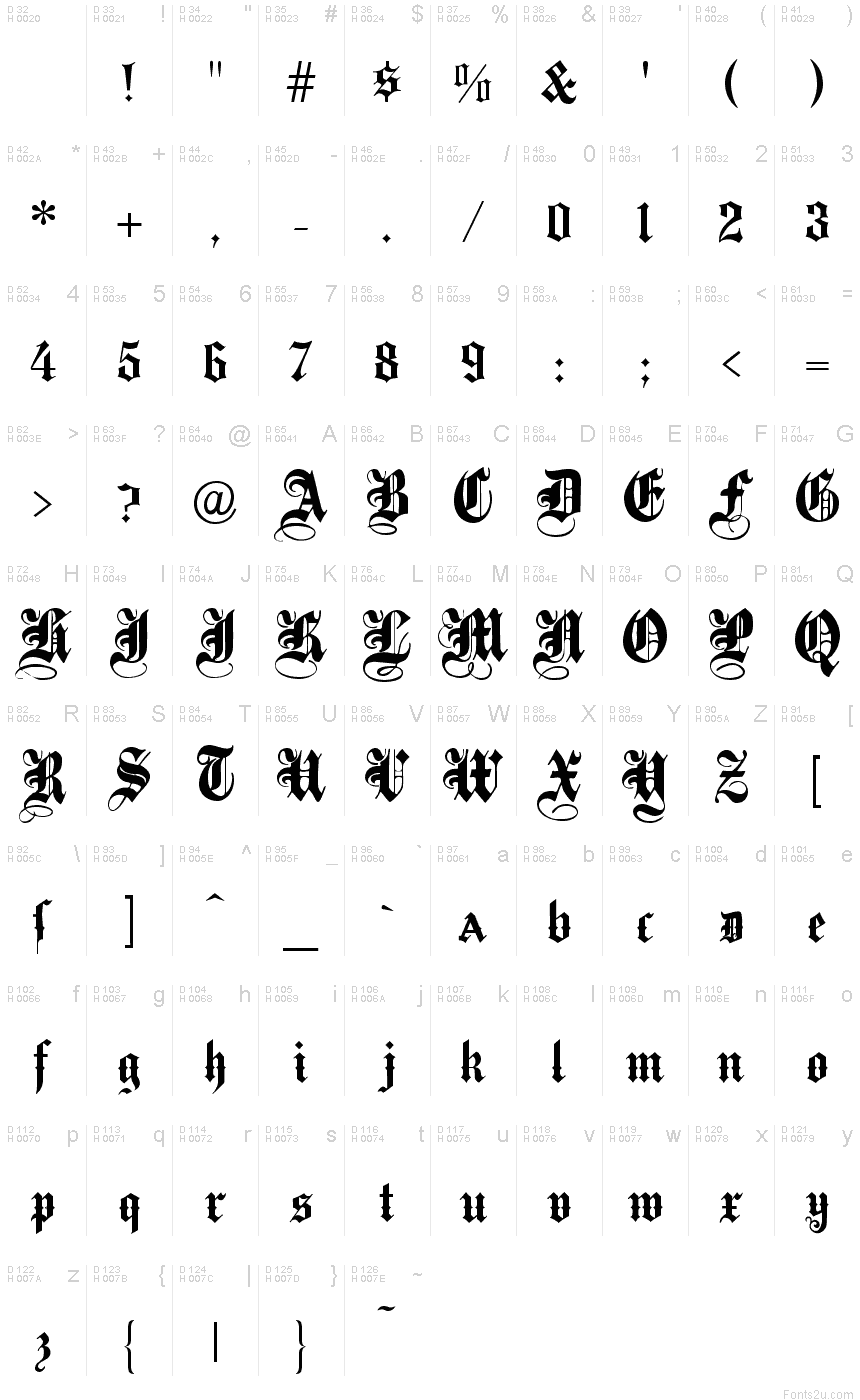 download fonts Abbey Dawn by ThaiAvrilLavigne